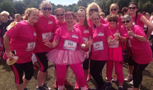 "Greyland Sponsor Dowson Primary ""Race for Life"" Runners"