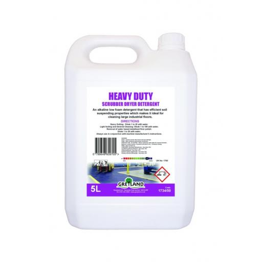 Heavy Duty Scrubber Dryer Detergent