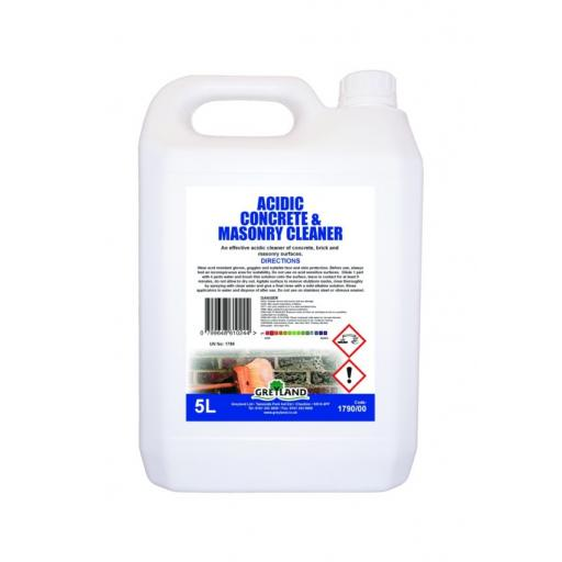 Acidic Concrete & Masonry Cleaner