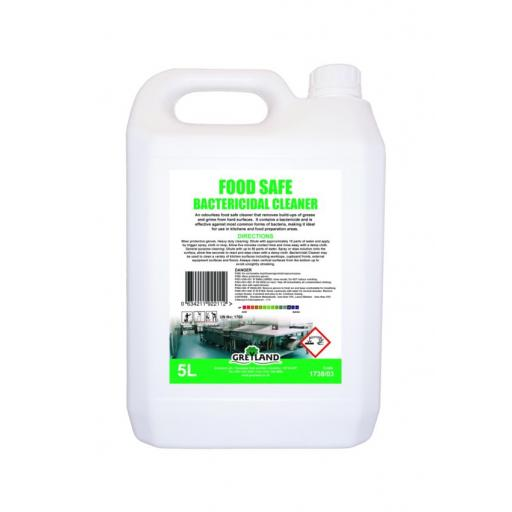 Food Safe Bactericidal Cleaner