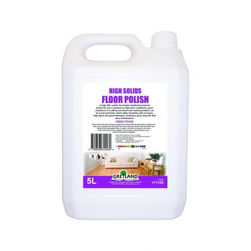 High Solids Floor Polish