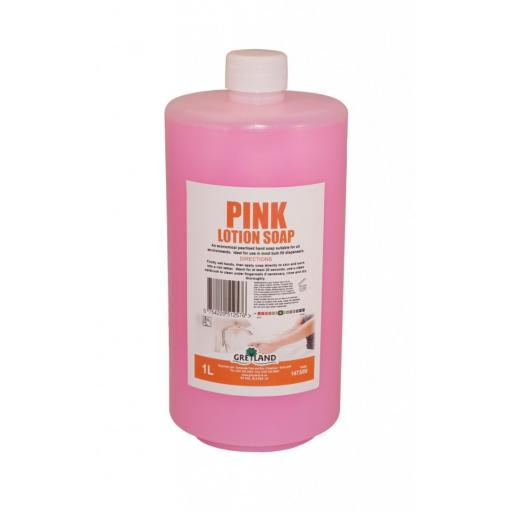 Pink Lotion Soap